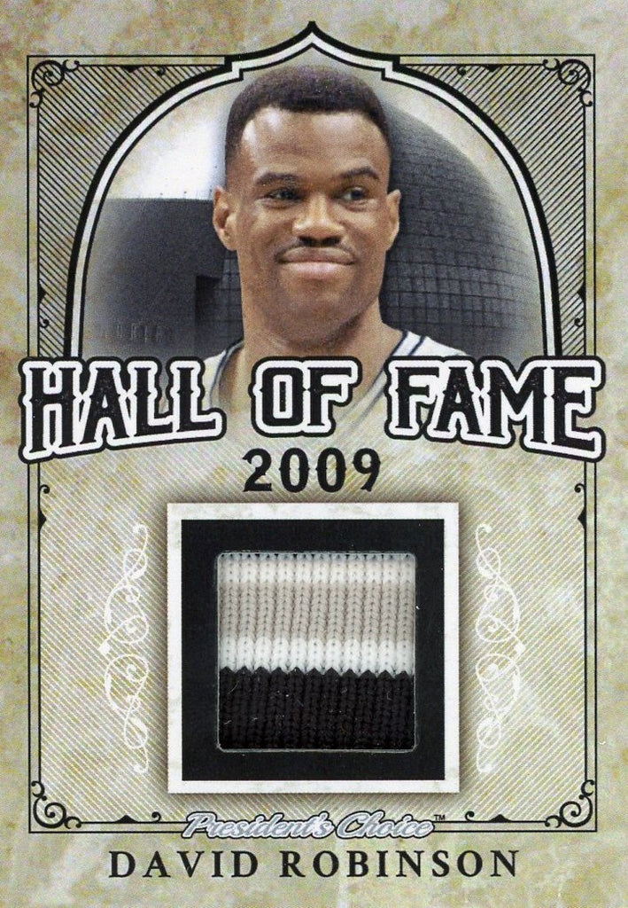David Robinson Hall of Fame 1/1