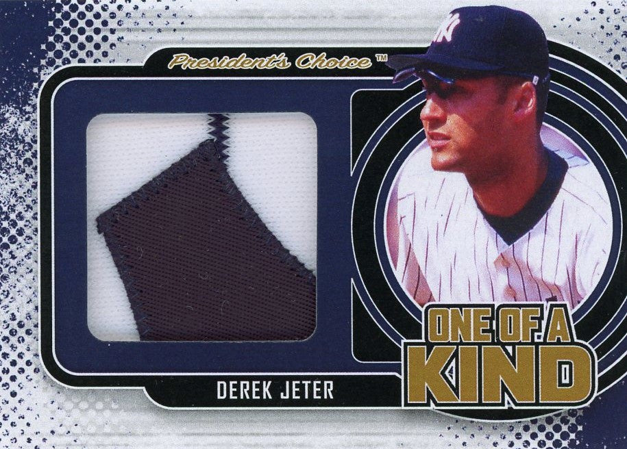 Derek Jeter One of A Kind 1/1