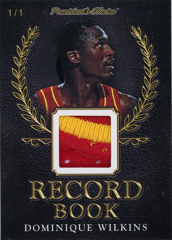 Dominique Wilkins Record Book 1/1