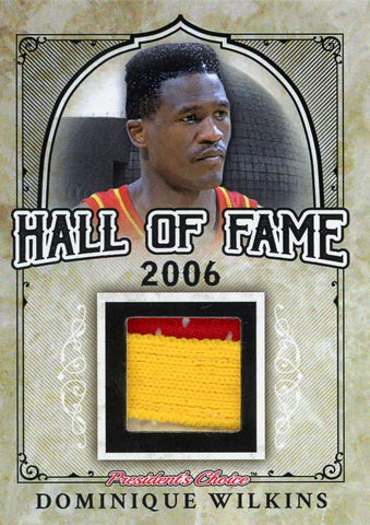 Dominique Wilkins Hall of Fame 1/1
