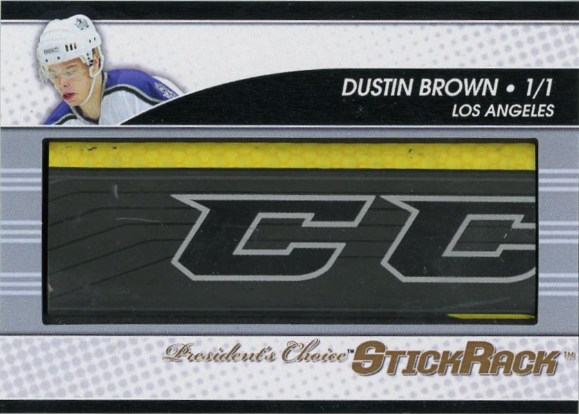 Dustin Brown StickRack 1/1