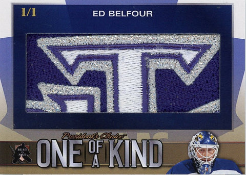 Ed Belfour One of a Kind 1/1