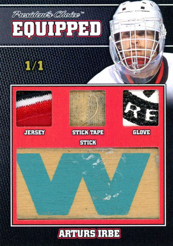 Arturs Irbe 1/1 Equipped