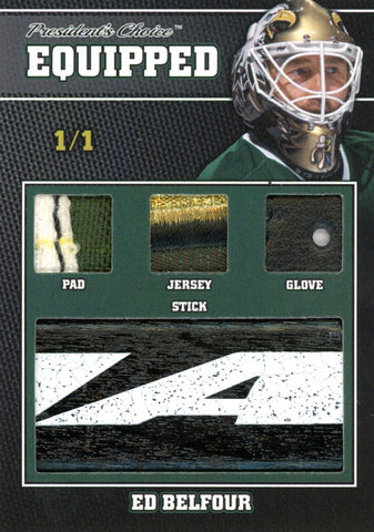 Ed Belfour 1/1 Equipped