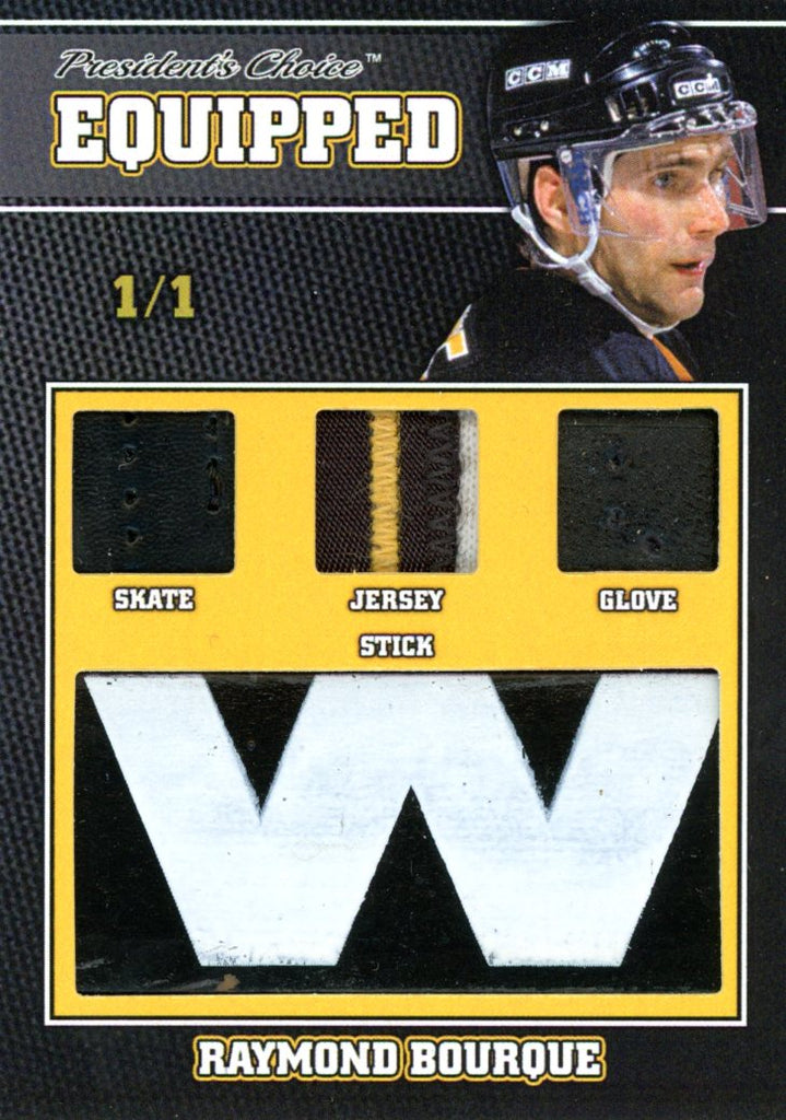 Ray Bourque 1/1 Equipped