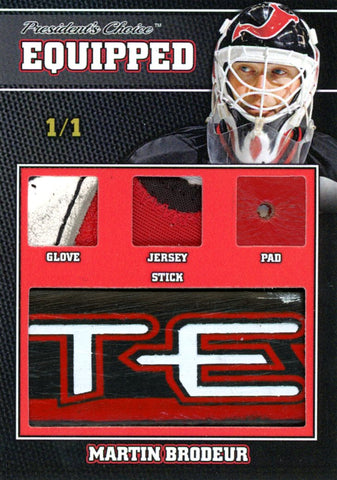 Martin Brodeur 1/1 Equipped