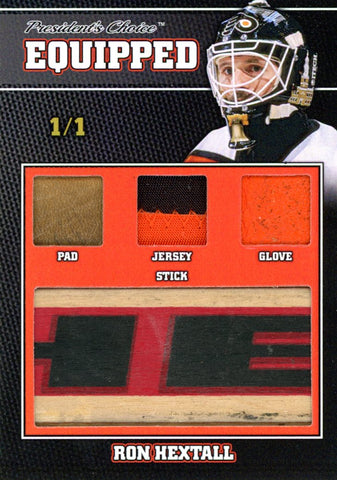Ron Hextall 1/1 Equipped