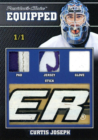 Curtis Joseph 1/1 Equipped