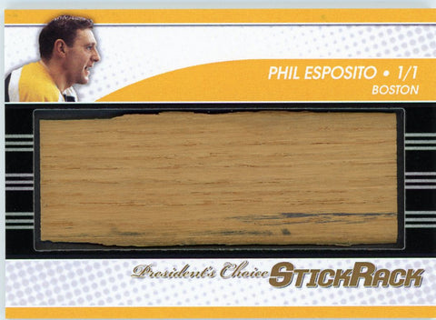 Phil Esposito StickRack 1/1