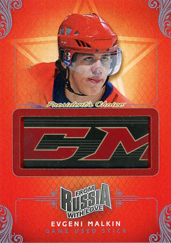 Evgeni Malkin Game-Used Stick /3