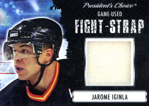 Jarome Iginla Fight-Strap #'d 3/3