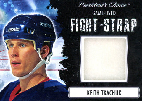 Keith Tkachuk Fight-Strap #'d 3/3