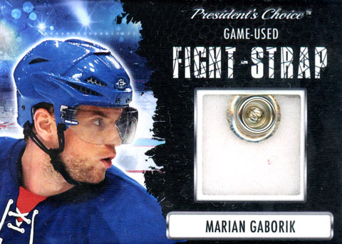 Marian Gaborik Fight-Strap #'d 1/3