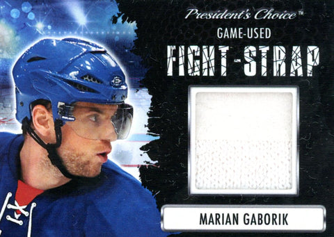Marian Gaborik Fight-Strap #'d 3/3