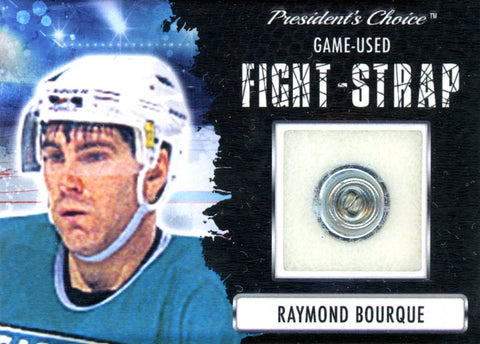 Raymond Bourque Fight-Strap #'d 1/3