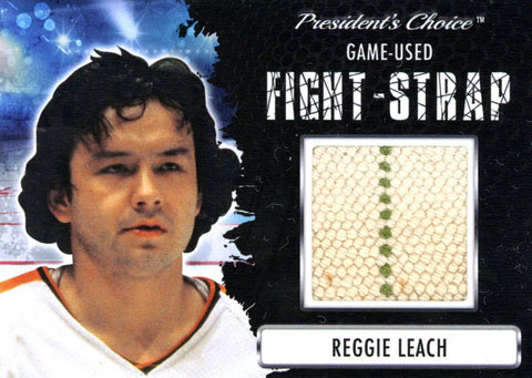 Reggie Leach Fight-Strap #'d 1/3