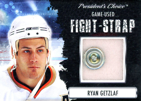 Ryan Getzlaf Fight-Strap #'d 1/3