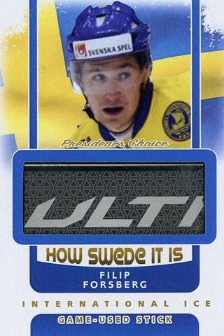 Filip Forsberg Game-Used Stick /3