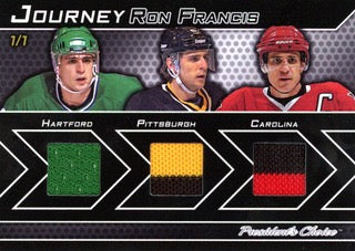 Ron Francis 1/1 Journey
