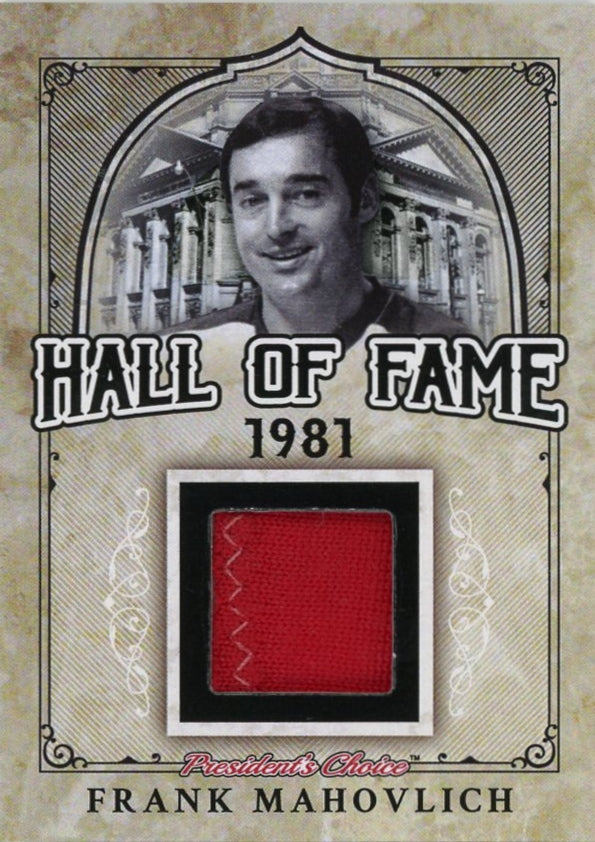 Frank Mahovlich Hall of Fame 1/1