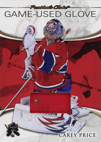 Carey Price Game-Used Glove /3