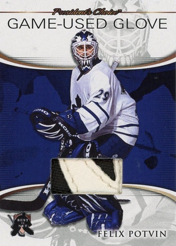 Felix Potvin Game-Used Glove /3