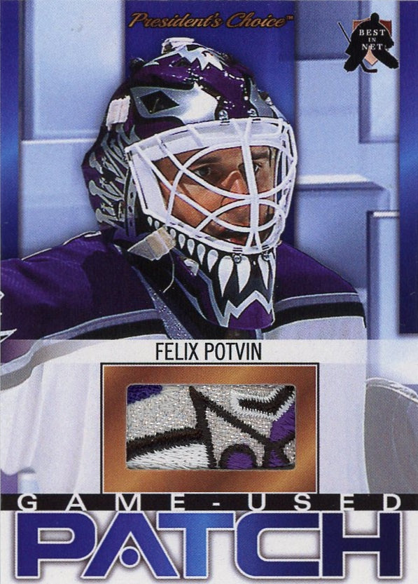 Felix Potvin (Los Angeles) Game-Used Patch /3