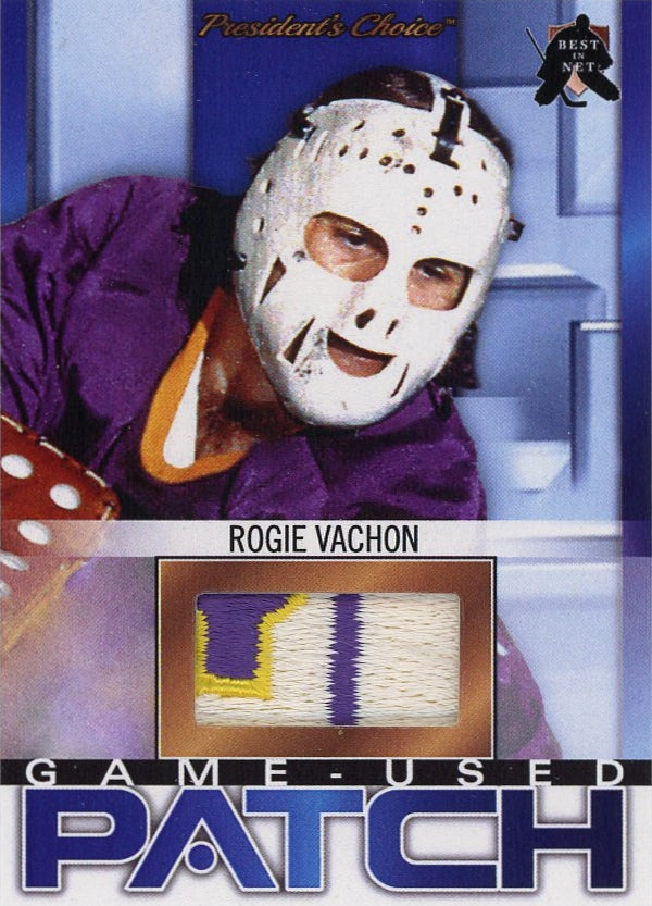 Rogie Vachon (Los Angeles) Game-Used Patch /3