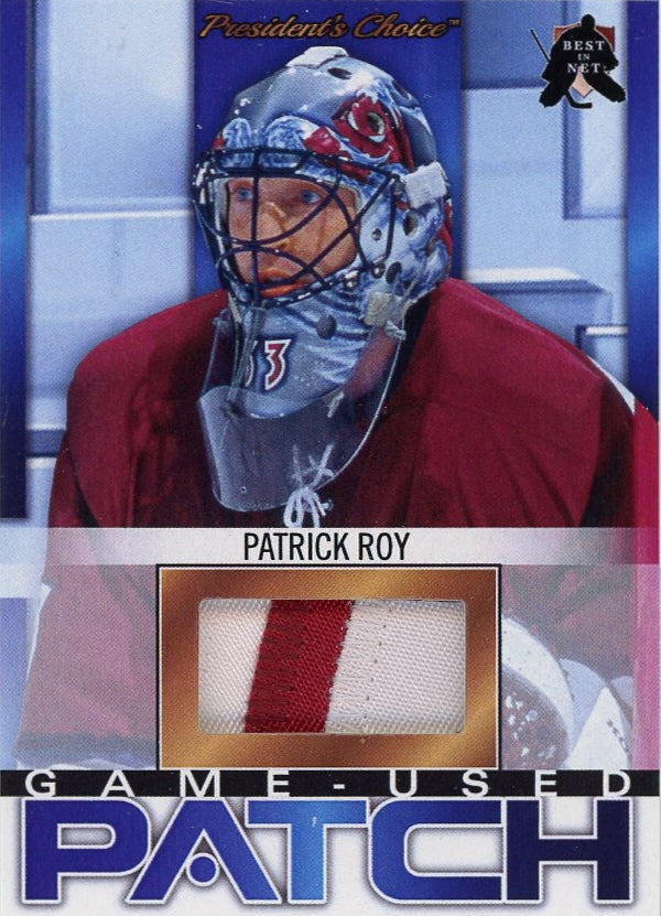 Patrick Roy (1998 All-Star Game) Game-Used Patch /3