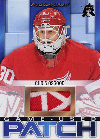 Chris Osgood (Detroit) Game-Used Patch /3