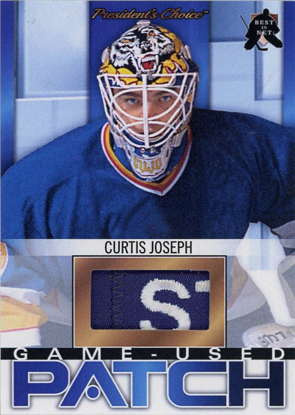Curtis Joseph (St. Louis) Game-Used Patch /3