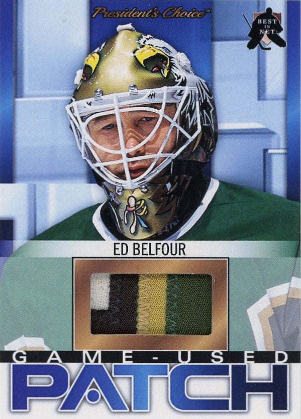 Ed Belfour (Dallas) Game-Used Patch /3