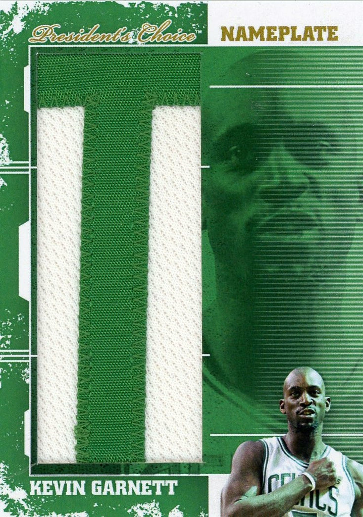 Copy of Kevin Garnett (T) NamePlates 1/1