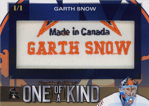 Garth Snow One of a Kind 1/1
