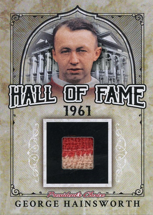 George Hainsworth Hall of Fame 1/1