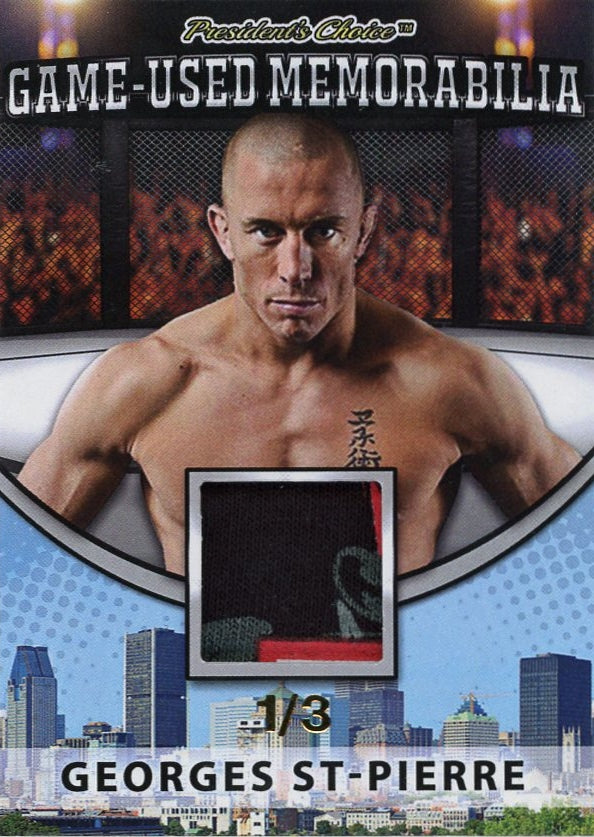 Georges St-Pierre Game-Used Memorabilia /3