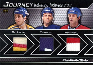 Doug Gilmour 1/1 Journey