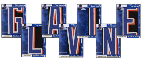 Tom Glavine NamePlate Complete 7-card set