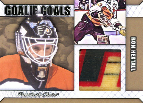 Ron Hextall Goalie Goal Gold 1/1