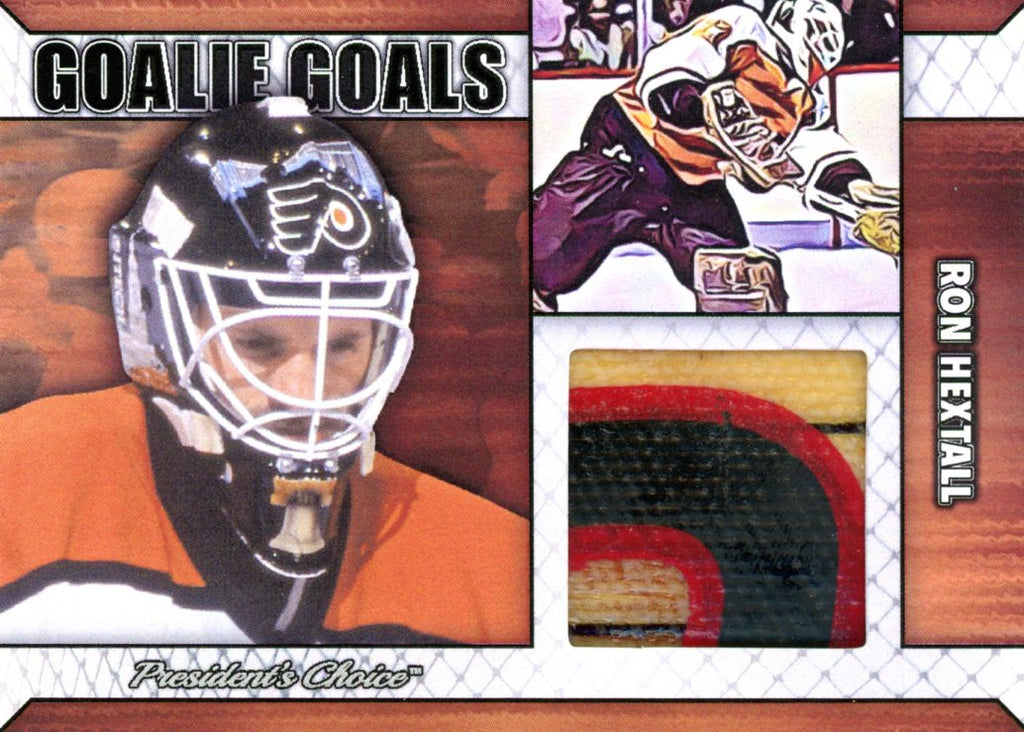 Ron Hextall Goalie Goal Base 4/6