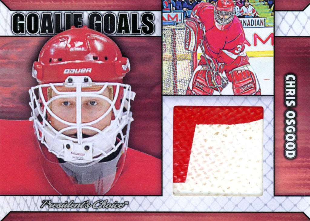 Chris Osgood Goalie Goal Base 2/6