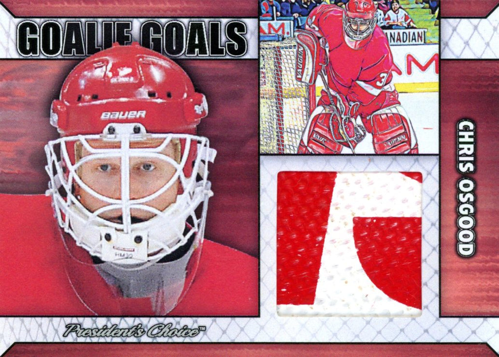 Chris Osgood Goalie Goal Base 5/6