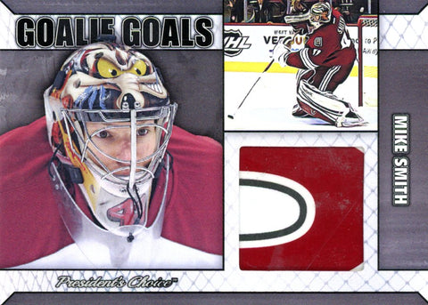 Mike Smith Goalie Goal Silver 2/3