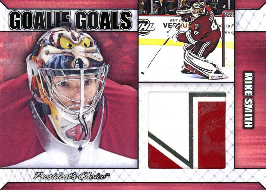 Mike Smith Goalie Goal Base 3/6