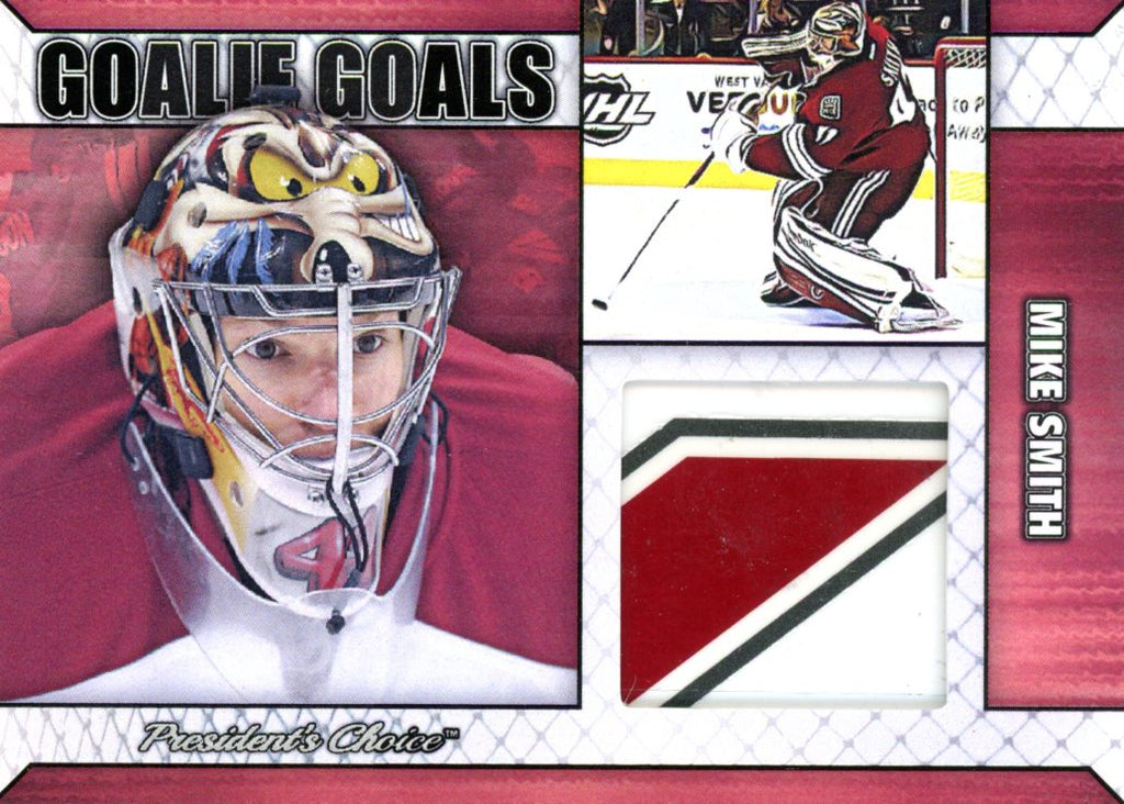 Mike Smith Goalie Goal Base 5/6