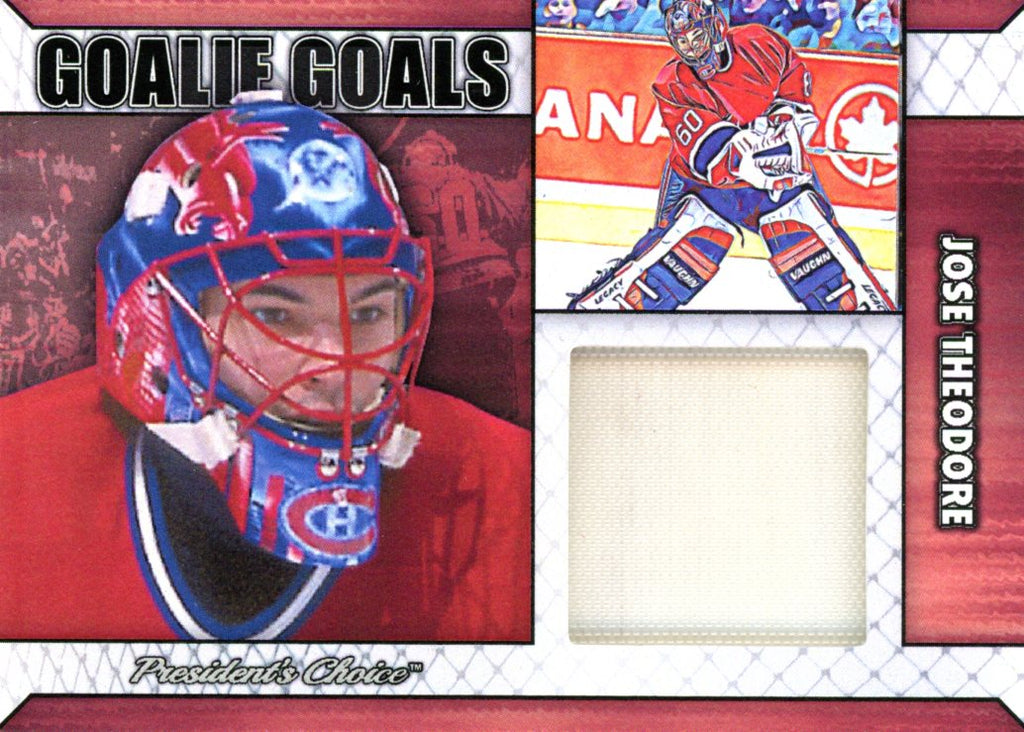 Jose Theodore Goalie Goal Base 2/6