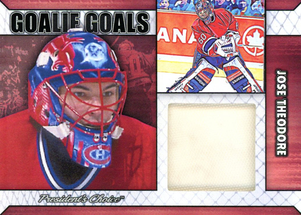 Jose Theodore Goalie Goal Base 5/6