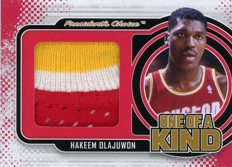 Hakeem Olajuwon One of A Kind 1/1