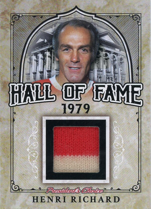 Henri Richard Hall of Fame 1/1