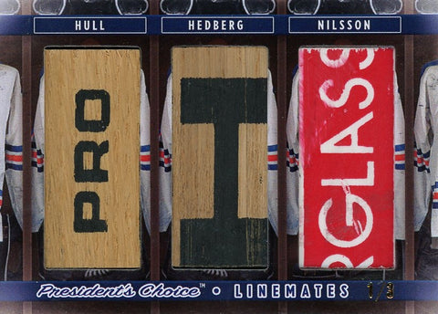 Hull, Hedberg, Nilsson LineMates /3